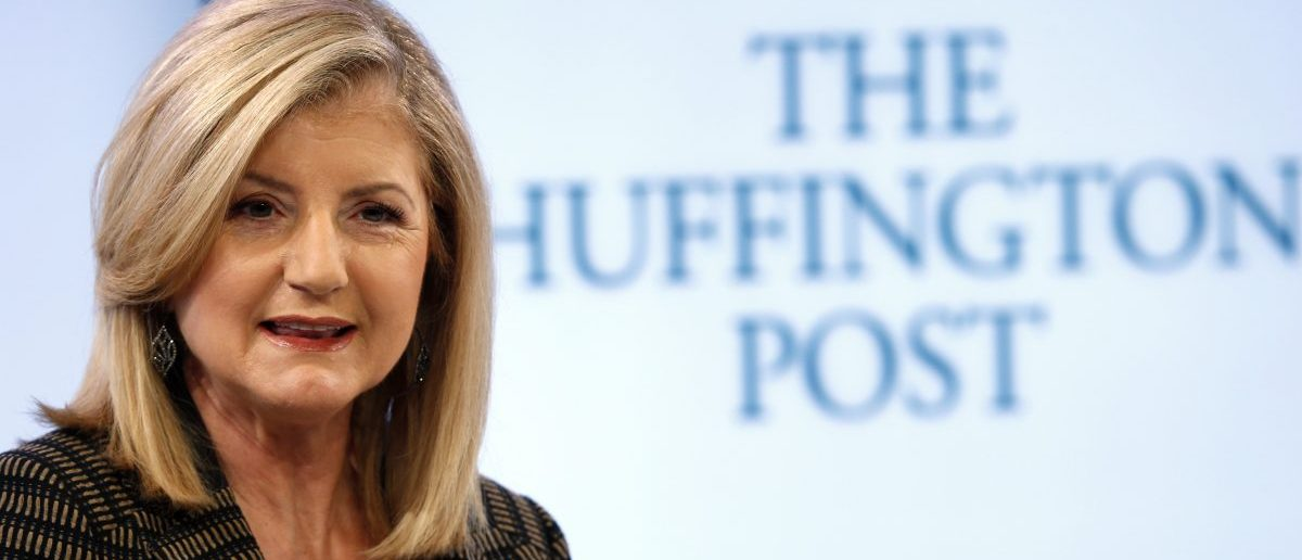 Arianna Huffington, (REUTERS/Denis Balibouse)