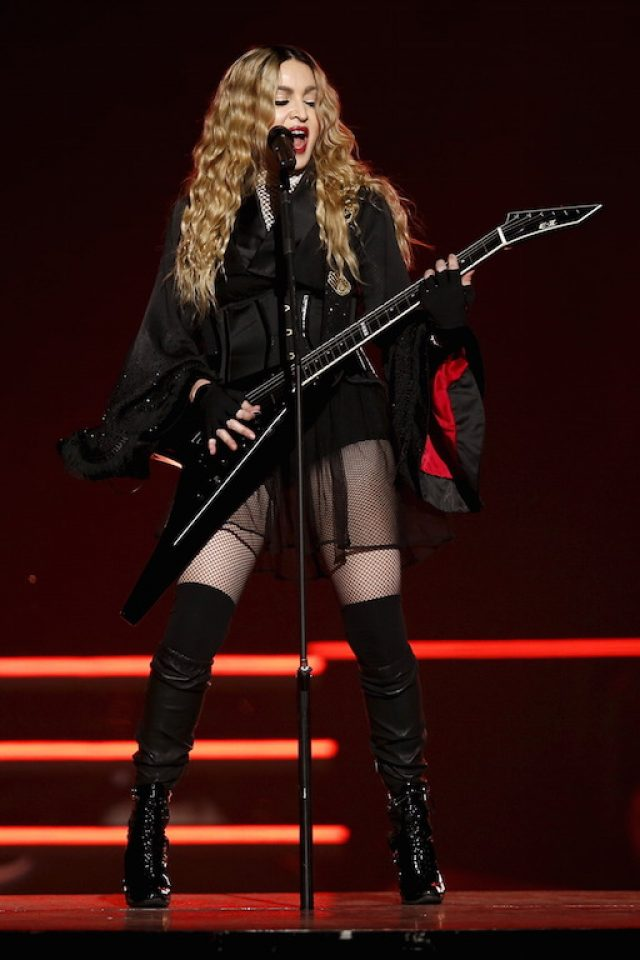 Madonna: $76.5 million (Photo by Reuters)