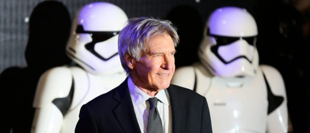 Harrison Ford arrives at the European Premiere of Star Wars, The Force Awakens in Leicester Square, London, December 16, 2015. REUTERS/Paul Hackett - RTX1YZXA
