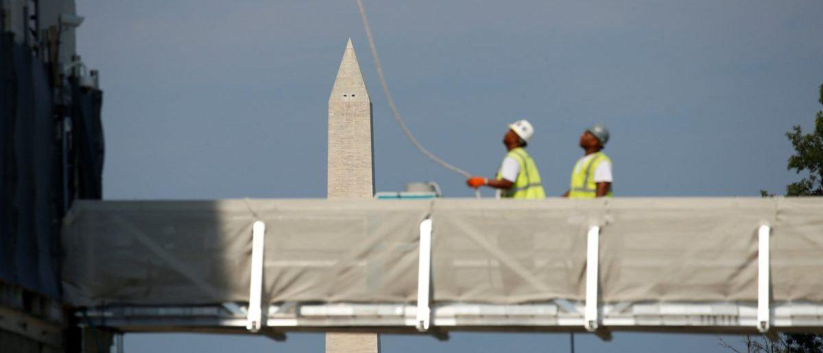 The Washington Monument (REUTERS/Kevin Lamarque)