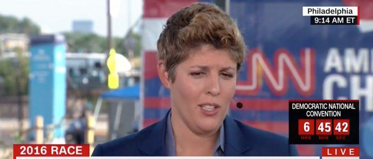 Sally Kohn, Screen Grab CNN, 7-25-2016