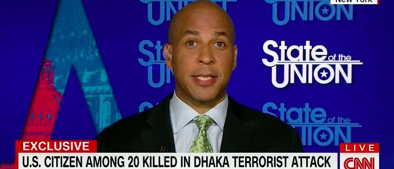 Cory Booker (Screenshot CNN)