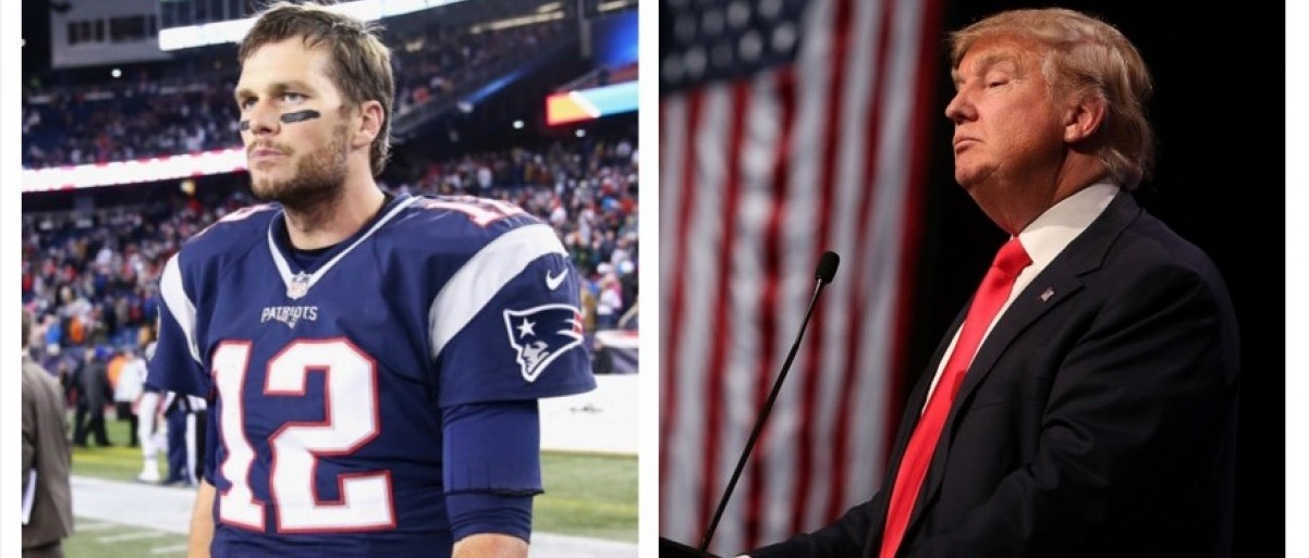 Tom Brady, Donald Trump (Getty Images)