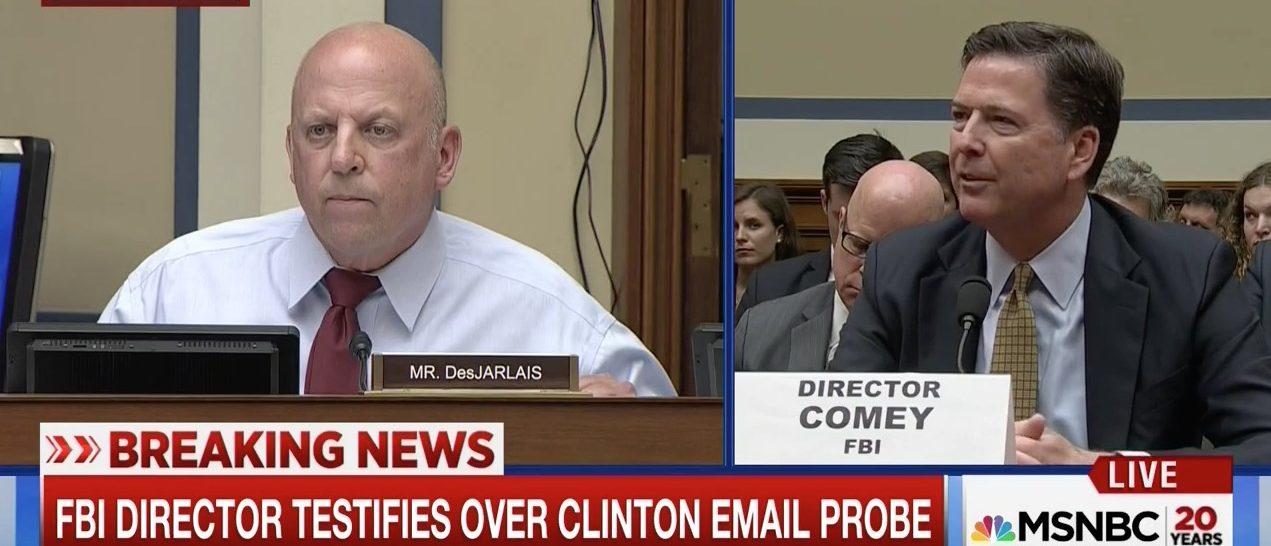 Scott DeJarlais, James Comey (MSNBC)