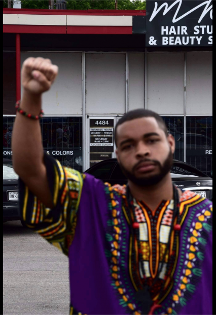 Micah X. Johnson Facebook page