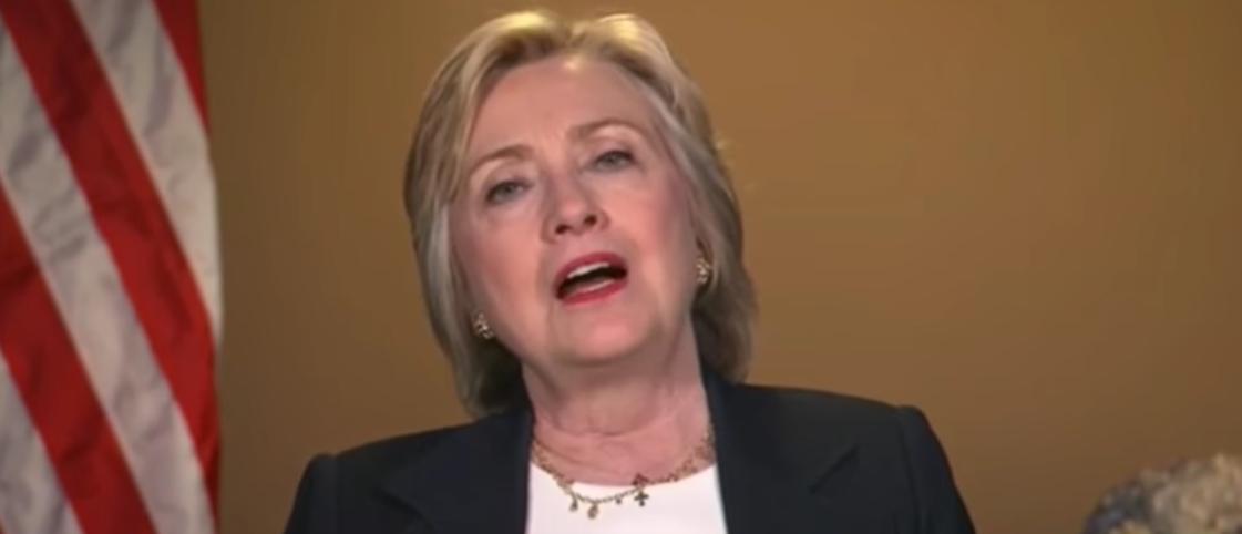 Hillary Clinton, July 8, 2016. (Youtube screen grab)