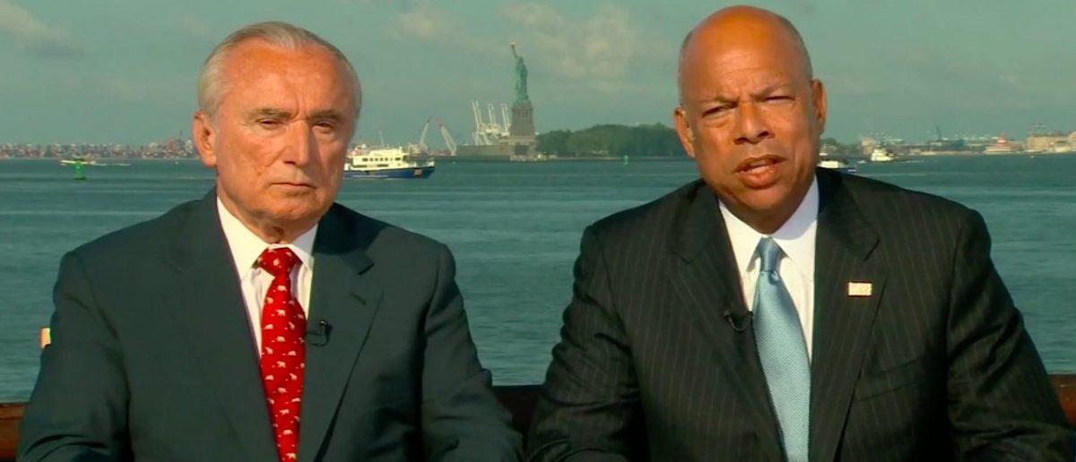 DHS Secretary Jeh Johnson (CBS)