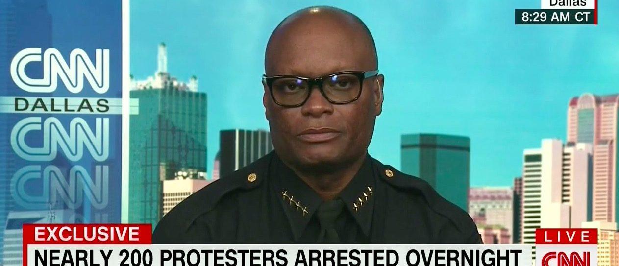 Dallas Police Chief David Brown (CNN)