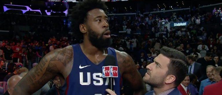 USA basketball (Credit: Screenshot/Youtube NBA)