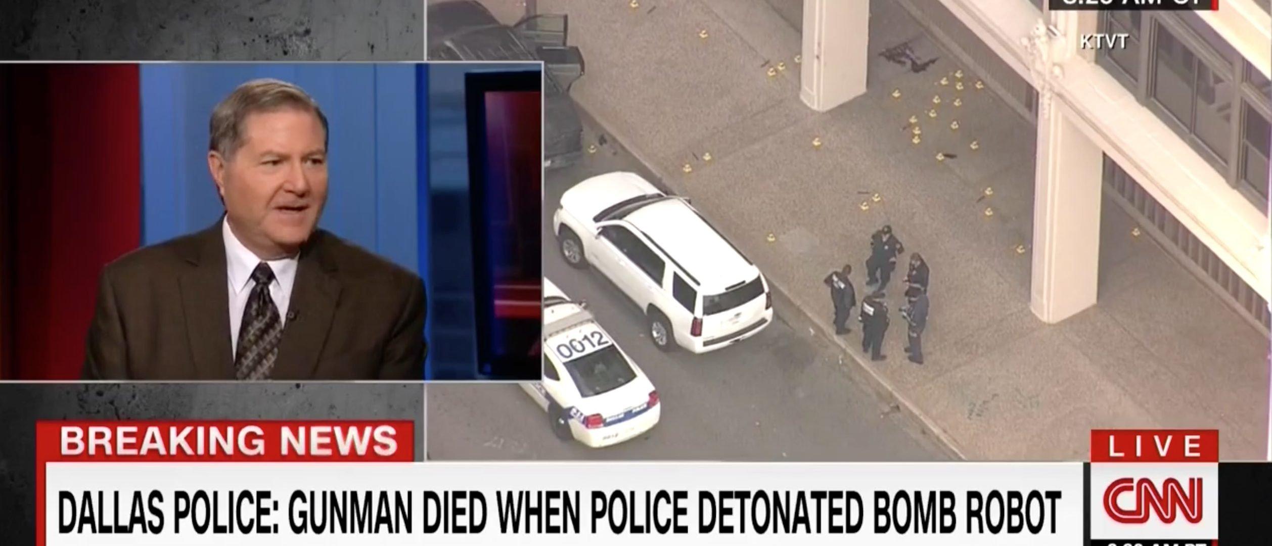 Tom Fuentes, Screen Grab CNN, 7-8-2016