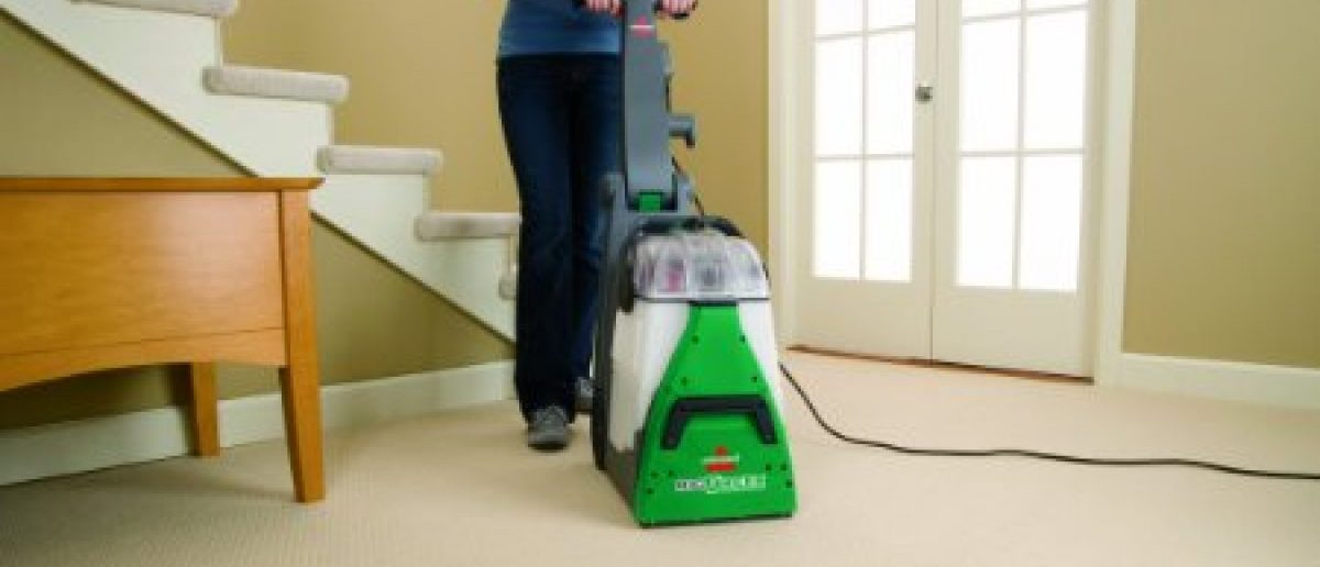 Bissell's Big Green Carpet Cleaner Machine is on sale today (Photo via Amazon)