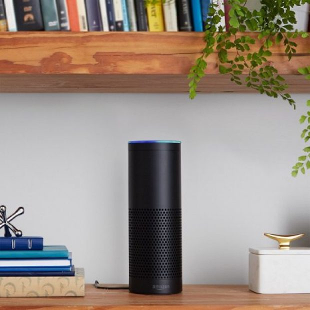Normally $180, the Amazon Echo is 50 percent off today for the first time ever (Photo via Amazon)