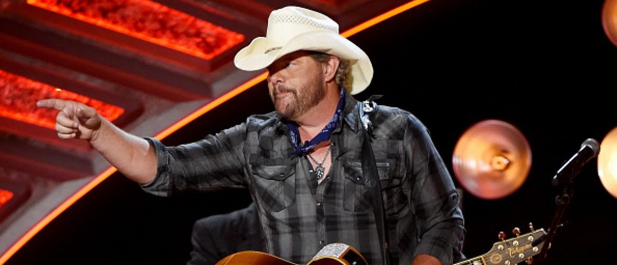 Courtesy of the Red, White and Blue by Toby Keith. (Photo: Getty Images)