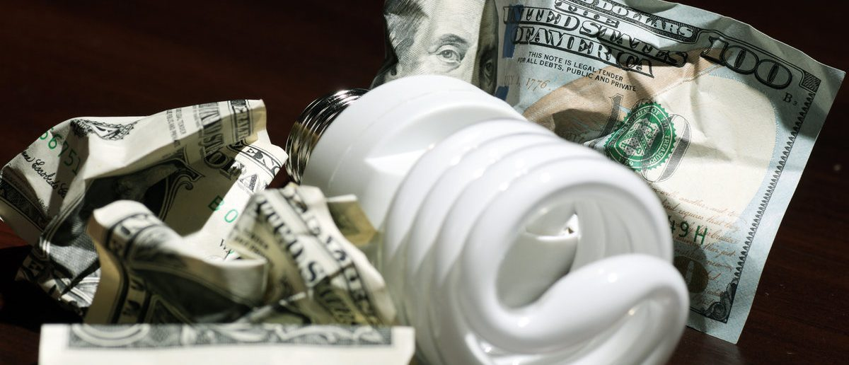 Expensive electricity savings and green energy poverty (Shutterstock/alexkich)