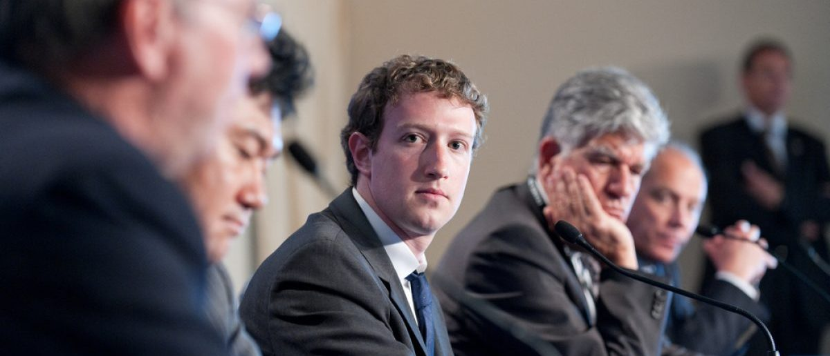 Facebook CEO Mark Zuckerberg at a press conference during the G8/G20 summit about new technologies - Deauville, France on May 26 2011. [Shutterstock - Frederic Legrand - COMEO]