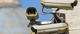 Multiple surveillance cameras to see all main points of the great metropolis. [Shutterstock - ChiccoDodiFC]