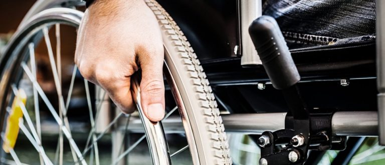Wheelchair. [Shutterstock/Minerva Studio]