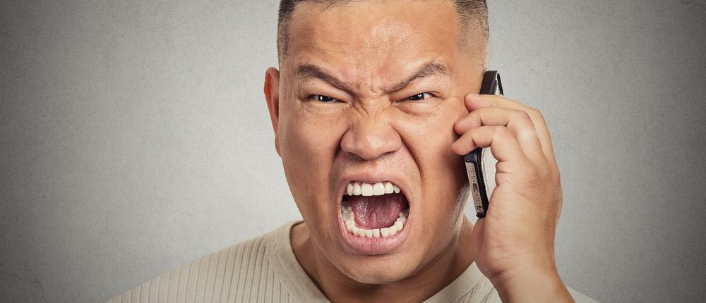 Angry Asian guy (Shutterstock)