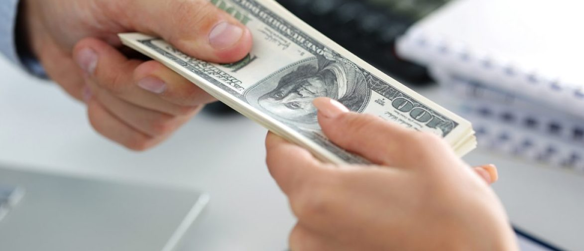 A D.C. official convicted of bribery only has to pay a $100 fine and spend three years on probation. Photo: Shutterstock
