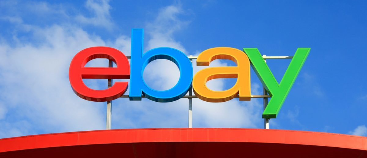 Ebay logo, ebay is an American multinational corporation and e-commerce company, providing consumer-to-consumer and business-to-consumer sales services. [Shutterstock - StockStudio]