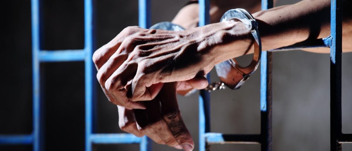 A prisoner. [Shutterstock/sakhorn]