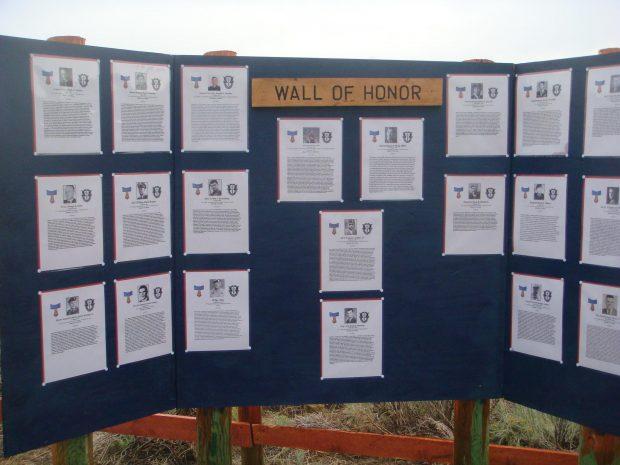 Wall of Honor. (Photo: Alex Quade)