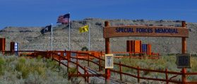 Special Forces Memorial in Wyoming. (Photo: Alex Quade)