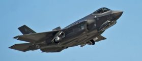 F-35 Bursts Into Flames On The Runway