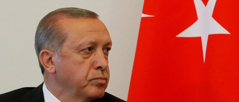 Turkish President Erdogan attends meeting with Russian President Putin in St. Petersburg