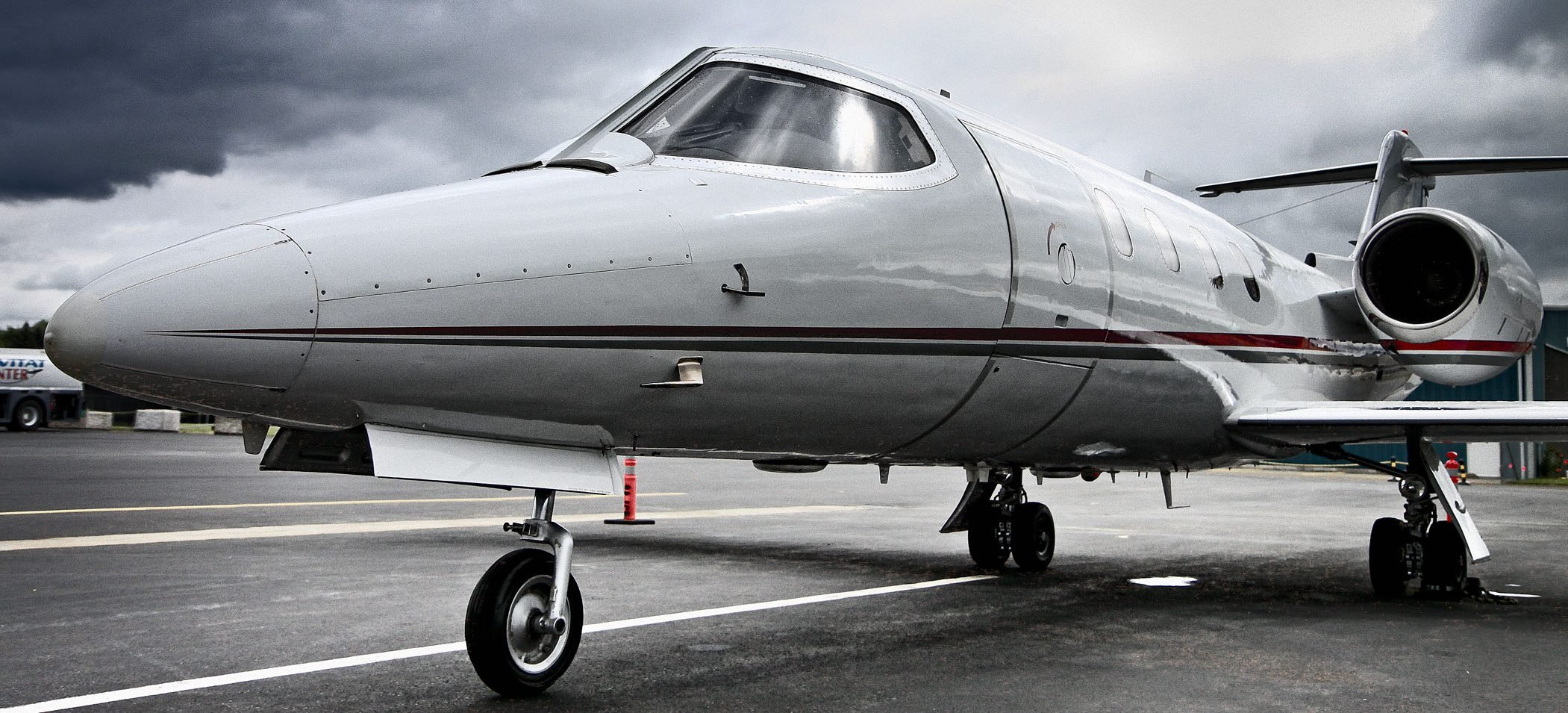 Lear jet. (Flickr image by stuart.mike)