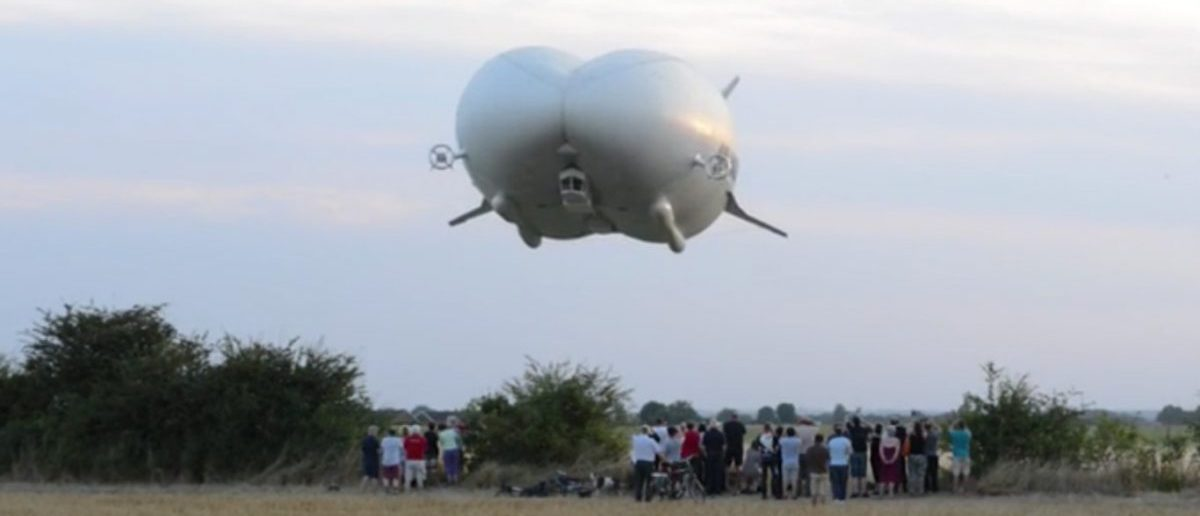 Screenshot: Airlander - Amazing Media/Daily Mail via YouTube