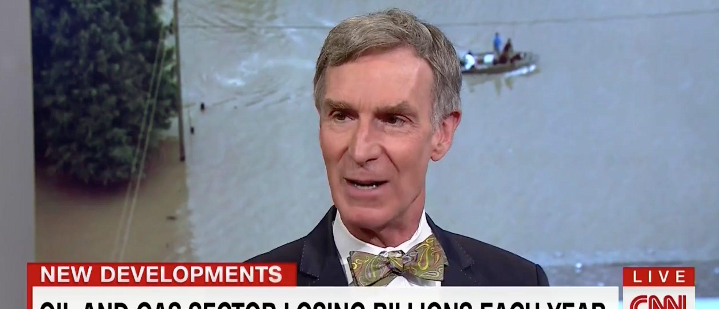 Bill Nye, Screen Grab CNN, 8-23-2016