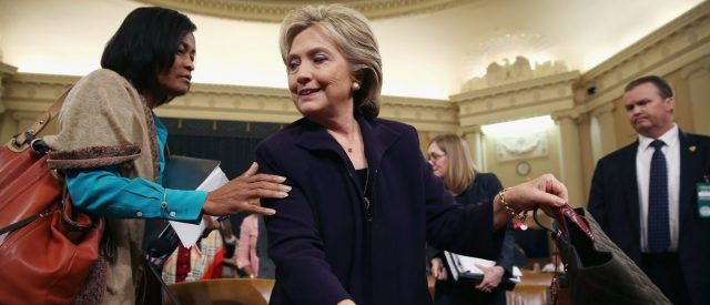 Hillary Clinton Testifies Before House Select Committee On Benghazi Attacks