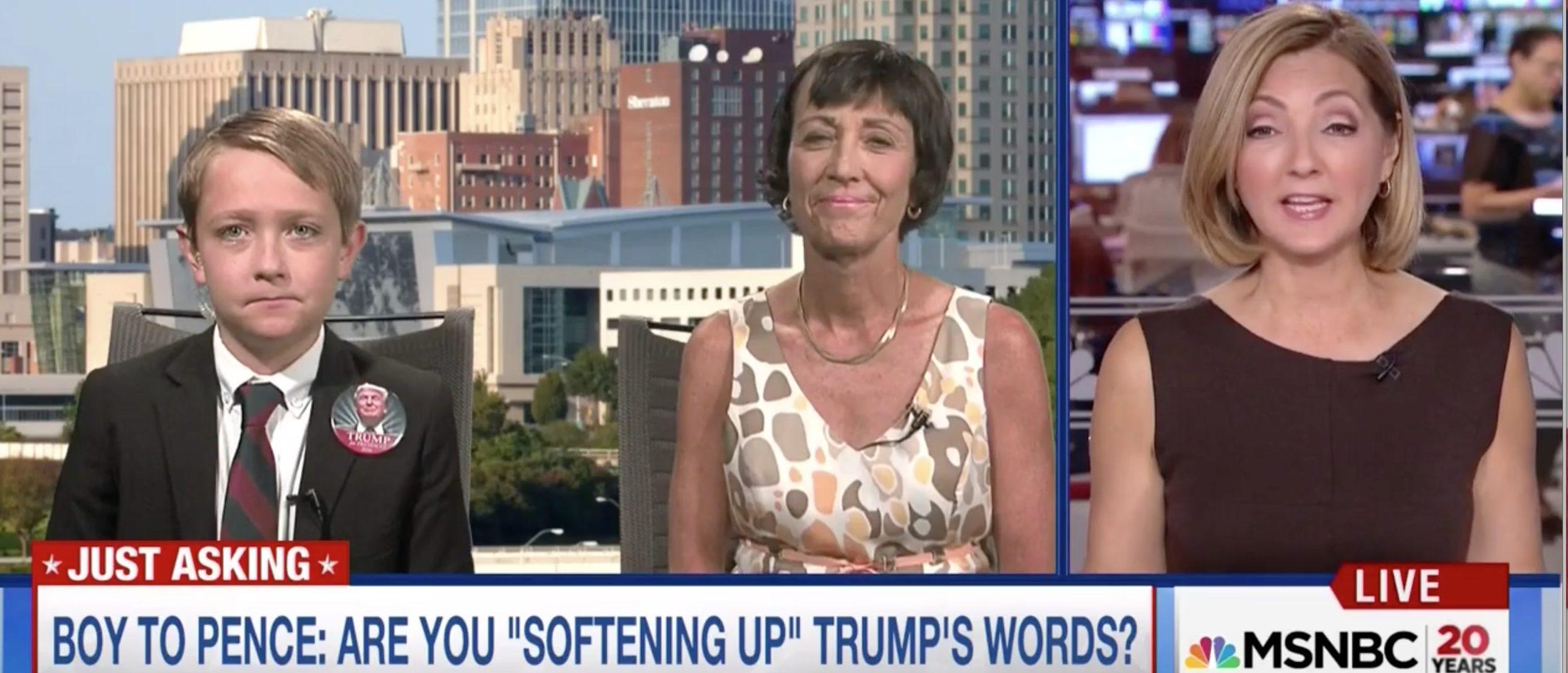 Chris Jansing, Matthew Schricker, Screen Grab MSNBC, 8-5-2016