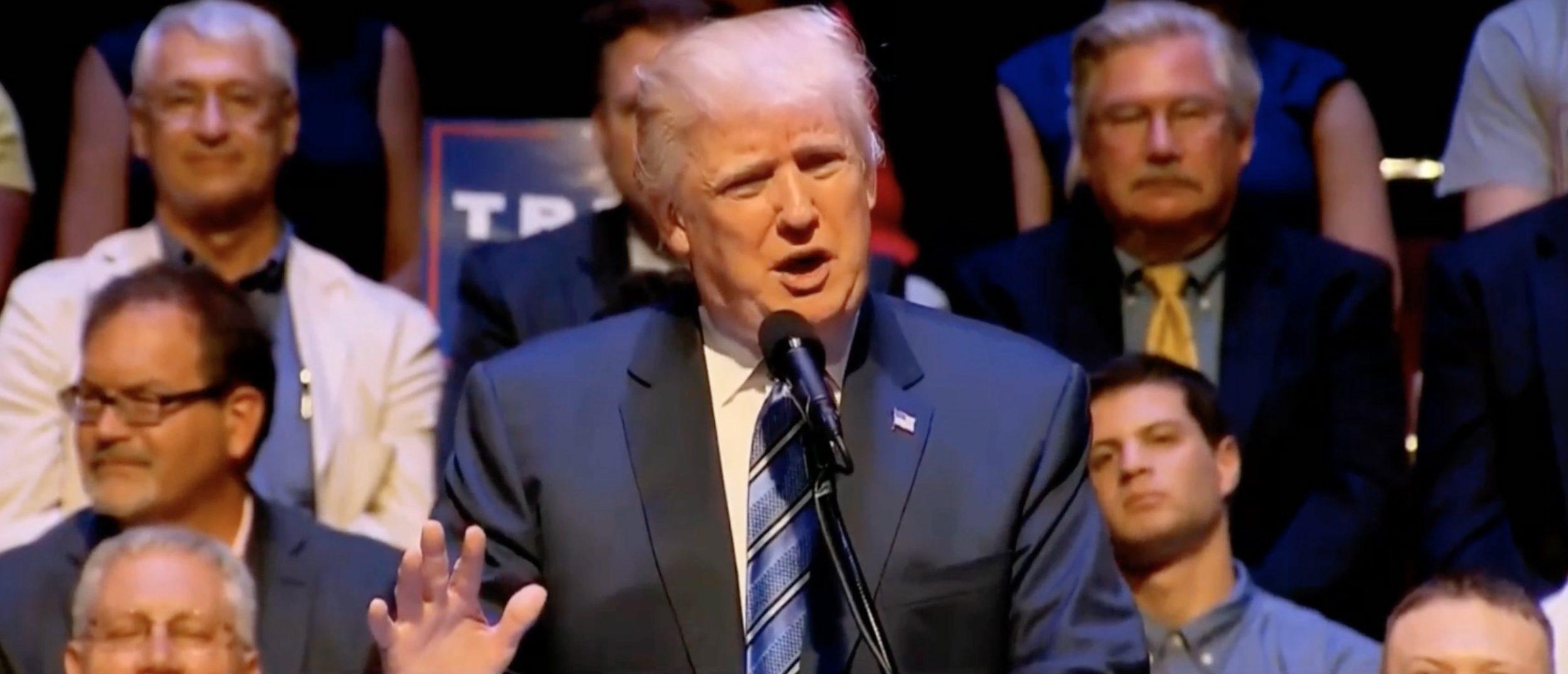 Donald Trump, Screen Grab RSBN YouTube, 8-4-2016