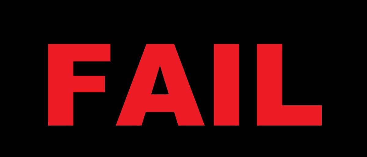 FAIL 'art' by Eric Owens