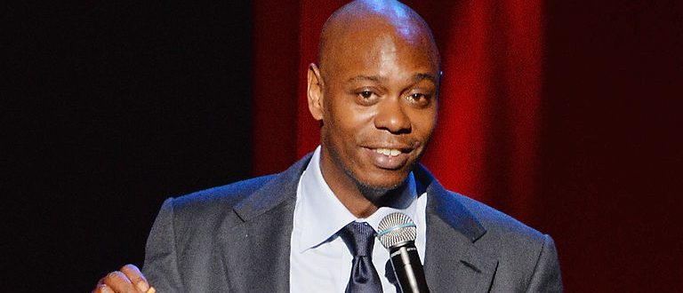 NEW YORK, NY - JUNE 19: Comedian/actor Dave Chappelle performs at Radio City Music Hall on June 19, 2014 in New York City. (Photo by Mike Coppola/Getty Images)
