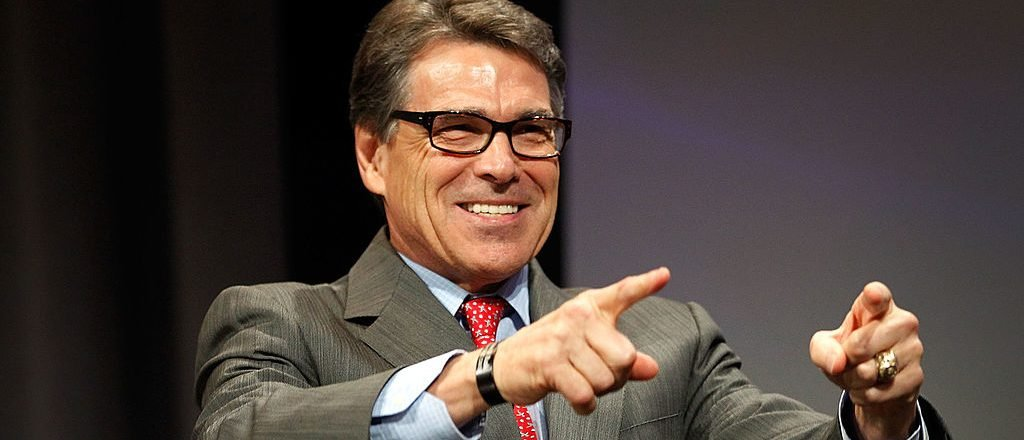 Texas Governor Rick Perry speaks at the Defending the American Dream Summit sponsored by Americans For Prosperity at the Omni Hotel on August 29, 2014 in Dallas