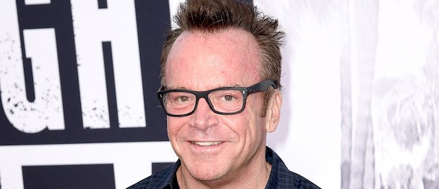 "LOS ANGELES, CA - AUGUST 10: Actor Tom Arnold arrives at the premiere of Universal Pictures and Legendary Pictures' ""Straight Outta Compton"" at the Microsoft Theatre on August 10, 2015 in Los Angeles, California. (Photo by Kevin Winter/Getty Images)"
