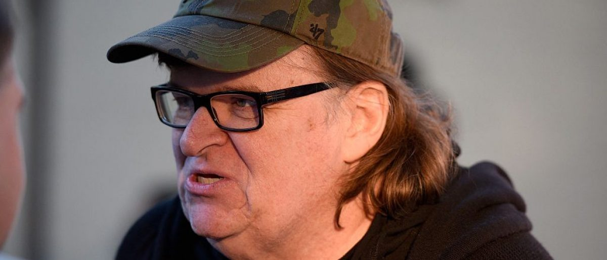 EAST HAMPTON, NY - OCTOBER 10: Documentary Filmmaker Michael Moore attends 'Where To Invade Next ' photo call during Day 3 of the 23rd Annual Hamptons International Film Festival on October 10, 2015 in East Hampton, New York. (Photo by Matthew Eisman/Getty Images)