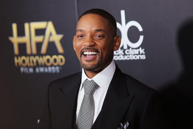 BEVERLY HILLS, CA - NOVEMBER 01: Honoree Will Smith attends the 19th Annual Hollywood Film Awards at The Beverly Hilton Hotel on November 1, 2015 in Beverly Hills, California. (Photo by Mark Davis/Getty Images)