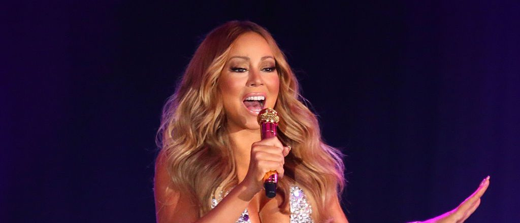 Mariah Carey performs at Crown Casino's New Year's Eve Party in Melbourne, Australia. (Photo by Scott Barbour/Getty Images)