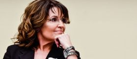 "Sarah Palin speaks during the ""Climate Hustle"" panel discussion at the Rayburn House Office Building (Getty Images)"