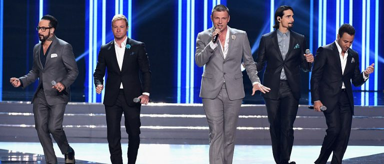 The Backstreet Boys recently reunited to perform during the 2016 Miss USA pageant in Las Vegas, Nevada in June.  (Photo by Ethan Miller/Getty Images)