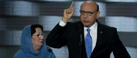 Clinton Campaign Uses Khizr Khan In New Ad Against Donald Trump [VIDEO]