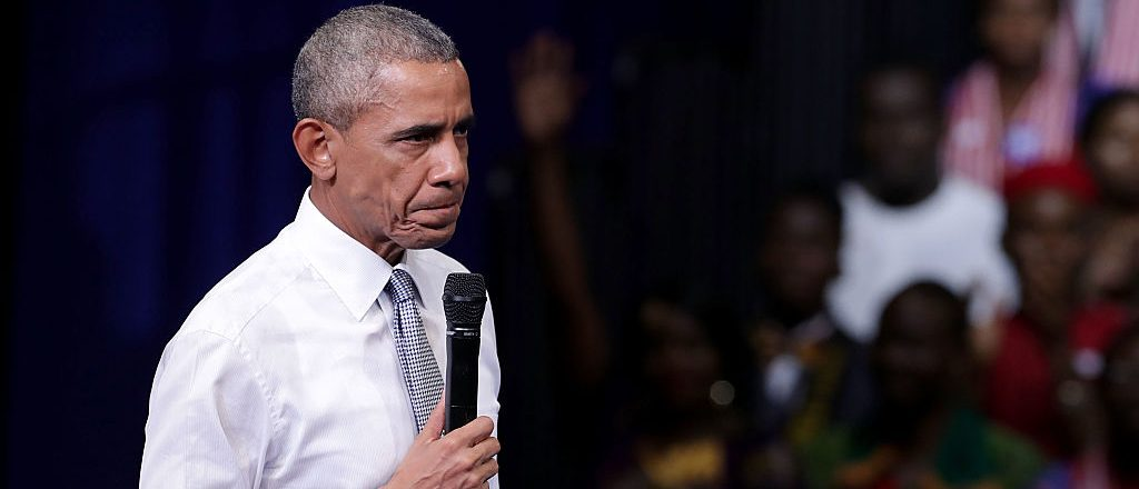 President Barack Obama addresses the Presidential Summit of the Mandela Washington Fellowship for Young African Leaders at the Omni Shoreham Hotel (Getty Images)