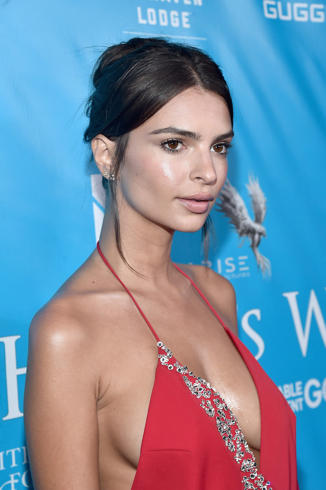 LOS ANGELES, CA - AUGUST 10: Model/Actress Emily Ratajkowski attends the special event for UN Secretary-General Ban Ki-moon hosted by Brett Ratner and David Raymond at Hilhaven Lodge on August 10, 2016 in Los Angeles, California. (Photo by Alberto E. Rodriguez/Getty Images for Arise Pictures)