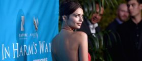Model Emily Ratajkowski attends the special event for UN Secretary-General Ban Ki-moon hosted by Brett Ratner and David Raymond at Hilhaven Lodge on August 10, 2016 in Los Angeles