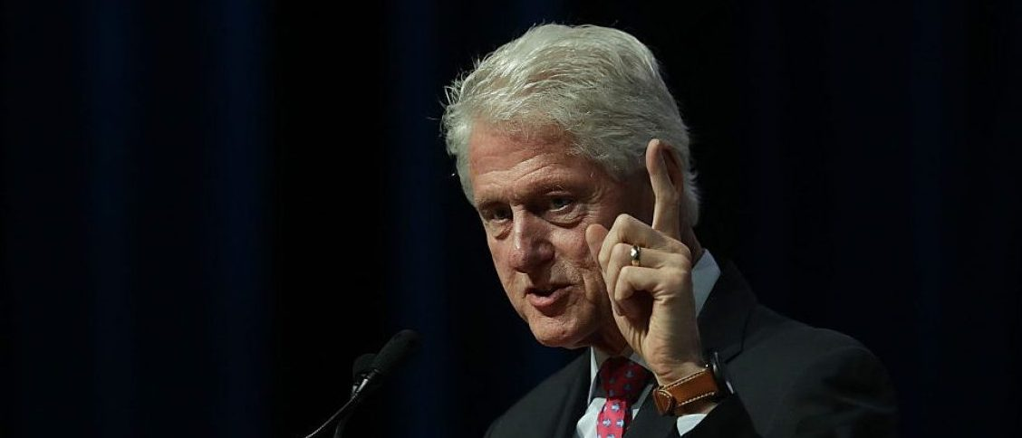 Bill Clinton speaks on behalf of his wife and Democratic presidential nominee Hillary Clinton (Getty Images)