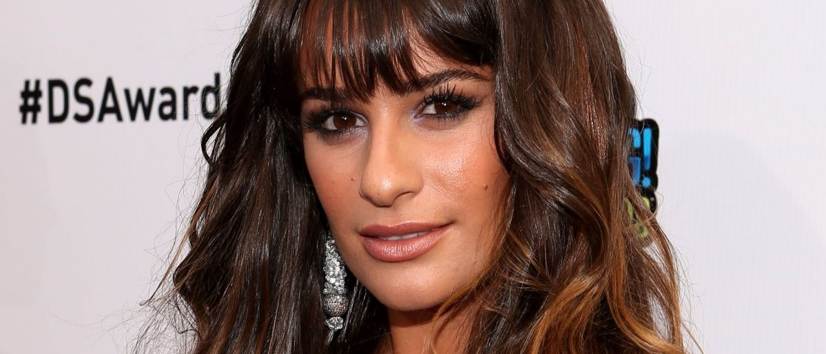 Actress Lea Michele arrives at the 2012 Do Something Awards at Barker Hangar on August 19, 2012 in Santa Monica, California. (Photo by Christopher Polk/Getty Images for VH1)